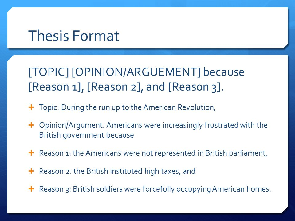 thesis statements about revolution Creating a paper on quiet revolution you can use this example to avoid typical  mistakes do not be afraid to use the ideas suggested by its author.